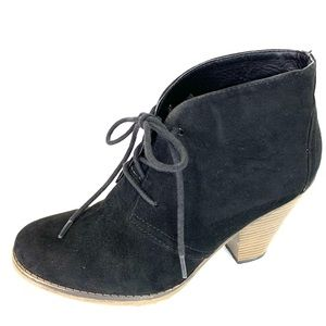 MIA Suede Shawna Ankle Boot, 7